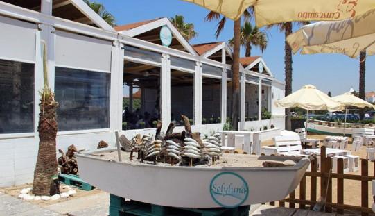 Chiringuito SolyLuna en Costa Ballena, Chipiona-Rota, Cádiz